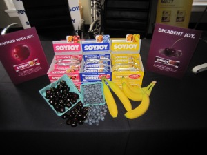 SoyJoy Sponsor Table