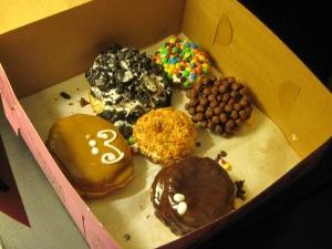 Mer's leftover Voodoo Doughnuts