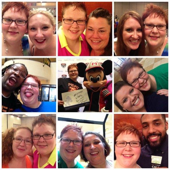 Fitbloggin14 Selfies