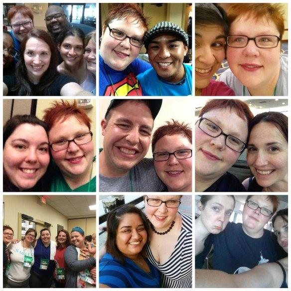 Fit Bloggin 2014 Selfies