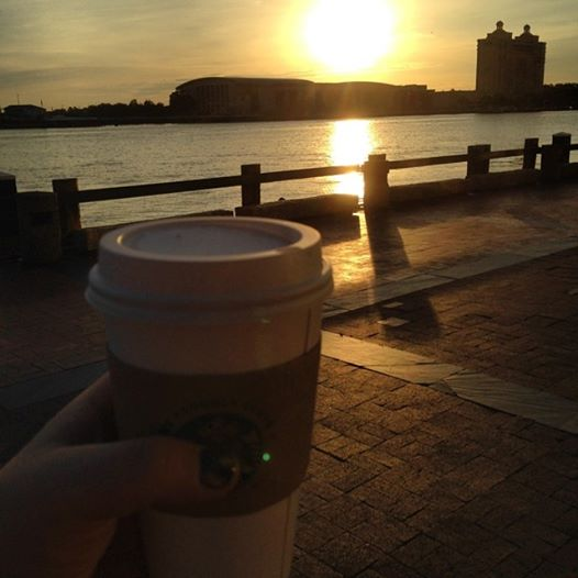 Sunrise in Savannah