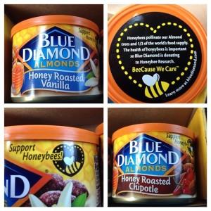 Blue Diamond Honey Roasted Vanilla Honey Roasted Chipotle Almonds