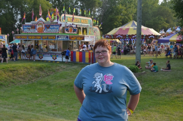 Kris at Washington County Fair